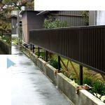 Y邸/フェンス取付